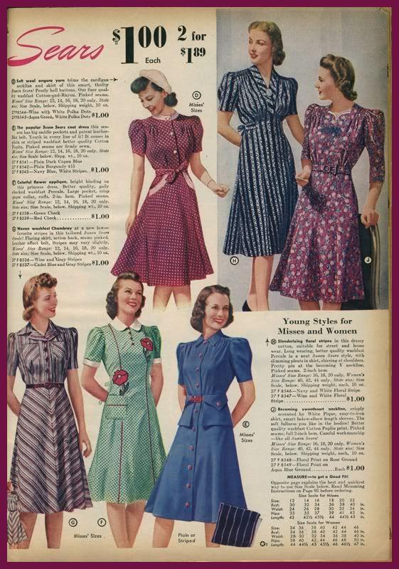 1940's Sears Catalog